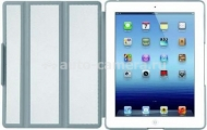 Кожаный чехол для iPad 3 и iPad 4 Macally Lightweight Protective Case, цвет white (BOOKSTANDDB-3W) (BOOKSTANDDB-3W)
