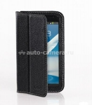 Кожаный чехол для Samsung Galaxy Note 2 (N7100) Yoobao Executive Leather Case, цвет black