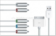 Оригинальный кабель для iPhone/iPad Apple Component AV Cable-ZML (MC917ZM/A)