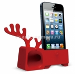 Подставка для iPhone 5 / 5S Ozaki O!music Zoo Deer B, цвет red (OM936DB)