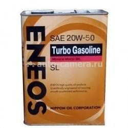 Масло Eneos 20W-50 TURBO GASOLINE SL, 4л