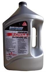 Масло Quicksilver Premium 2-Cycle Outboard Oil TC-W3 92-858022QB1, 4л