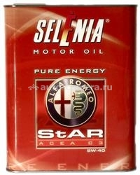 Масло Selenia 5W-40 STAR PURE ENERGY 14133701, 2л